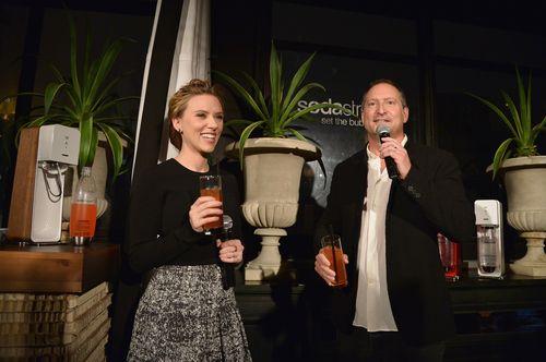 Scarlet Johansson_Daniel Birnbaum Announce SodaStream Partnership