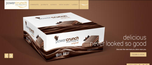 PowerCrunch   Protein Energy Bar
