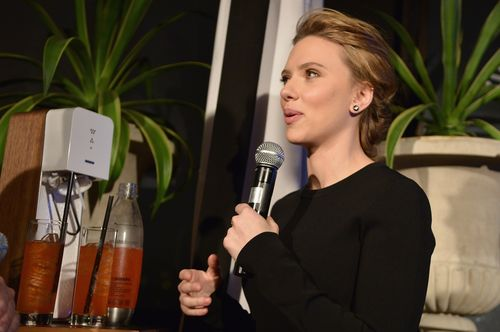 Scarlett Johansson Announces SodaStream Partnership
