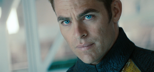 Chris Pine Captain Kirk Star Trek Into Darkness
