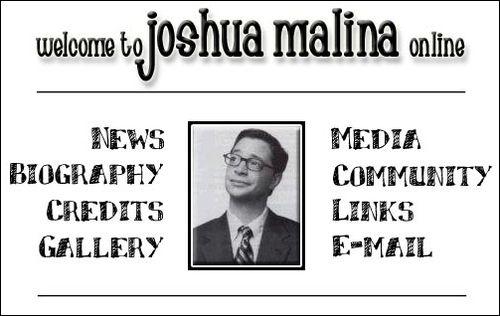 JOSHUA MALINA ONLINE